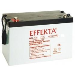 Batterie AGM 120Ah 12V Effekta BTL 12-120S