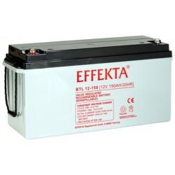 Batterie AGM 150Ah 12V Effekta BTL 12-150