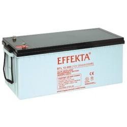Batterie AGM 200Ah 12V Effekta BTL 12-200