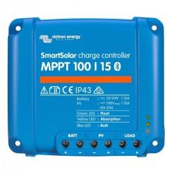 Régulateur de charge solaire SmartSolar MPPT 100/15 (12/24V) - Victron Energy