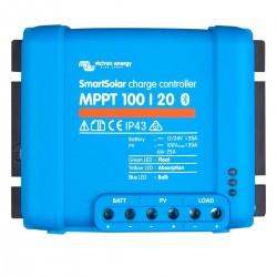 Régulateur de charge solaire SmartSolar MPPT 100/20 (12/24V) - Victron Energy