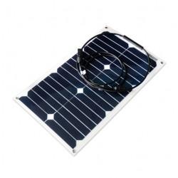 Panneau solaire flexible monocristallin 12V 20W Back Contact Sun Power