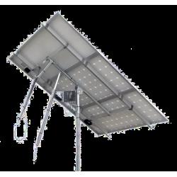 Tracker suiveur solaire 1 axe 3 panneaux solaires 1110W maximum