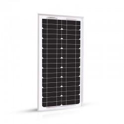Panneau Solaire 20w -12v Monocristalin - EcoWatt