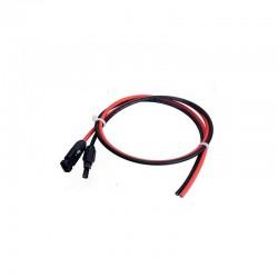 Câble solaire 2x5m-4mm2 avec MC4 - pré câblé
