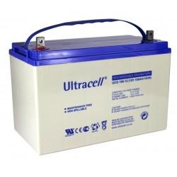 Batterie GEL100Ah 12V UltraCell UCG 100-12