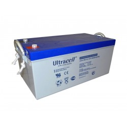 Batterie GEL250Ah 12V UltraCell UCG 250-12