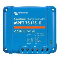 Régulateur de charge solaire SmartSolar MPPT 75/15 (12/24V) - Victron Energy
