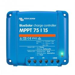 Régulateur de charge solaire BlueSolar MPPT 75/15 (12/24V) - Victron Energy