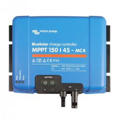 Régulateur de charge solaire BlueSolar MPPT 150/45-TR (12/24V) - Victron Energy