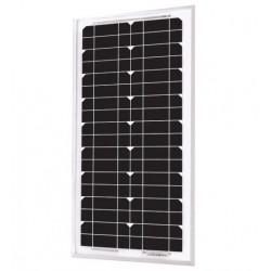 Panneau solaire monocristallin 24V 20W Uniteck