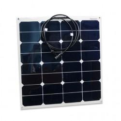 Panneau solaire flexible monocristallin 12V 55W Back Contact Sun Power