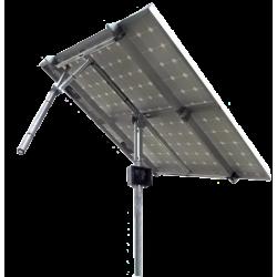 Tracker suiveur solaire 1 axe 2 panneaux solaires 740W maximum