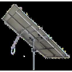Tracker suiveur solaire 1 axe 4 panneaux solaires 1480W maximum