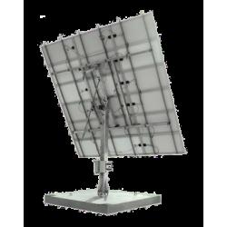 Tracker suiveur solaire 2 axes 15 panneaux solaires 5550W maximum