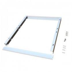 Cadre saillie blanc pour dalle LED 60cm x 60cm