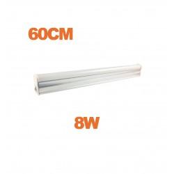 Tube LED T5 8W 60cm blanc