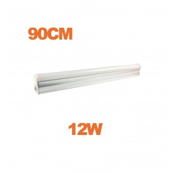 Tube LED T5 12W 90cm blanc