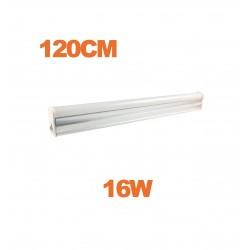 Tube LED T5 16W 120cm blanc
