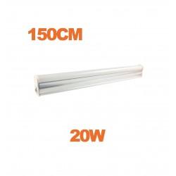 Tube LED T5 20W 150cm blanc