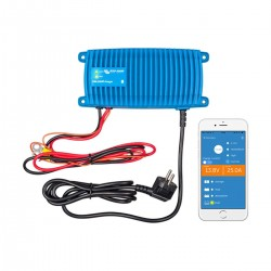 Chargeur Victron Blue Smart IP67 12V / 25A 1 sortie (1+Si)