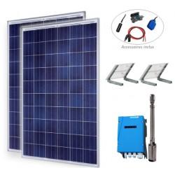 Kit pompage solaire avec pompe immergée Lorentz PS2-200