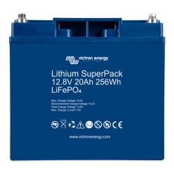 Batterie Lithium 20Ah 12V Superpack Victron BMS intégré