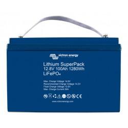 Batterie Lithium 100Ah 12V Superpack Victron BMS intégré