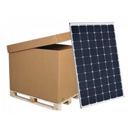Palette de 30 panneaux solaires monocristallins 24V 300W CSun